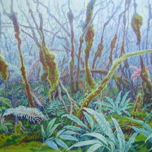 Моховой лес / Foresta de musgo