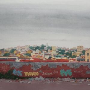 Muro. Zona industrial / Стена. Промзона