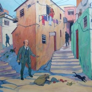 В И Ленин уходящий от агентов царской охранки фавелами Рио де Жанейро или Тринадцатый сон Надежды Константиновны