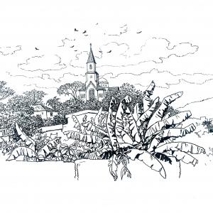 Церковь в Леопольдине / Igreja em Leopoldina