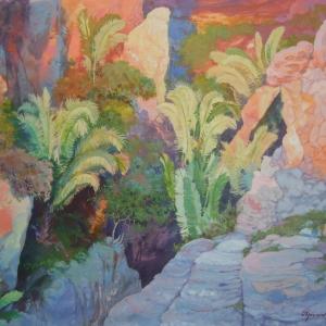 Ущелье в Вали ду Катимбау / Desfiladeiro em Vale do Catimbau