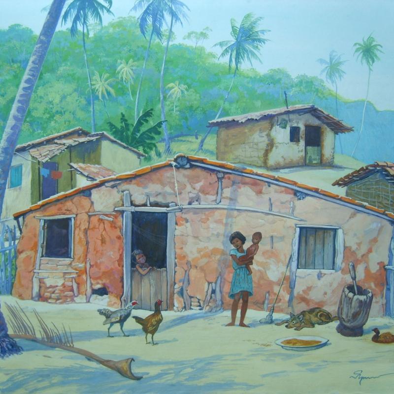 Домишки в окрестностях Гуарабиры / Casebres nos arrabaldes da Guarabira