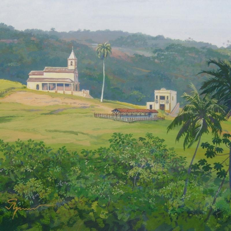 Церковь в Витория де Санту Антаун / Igreja na Vitória de Santo Antão