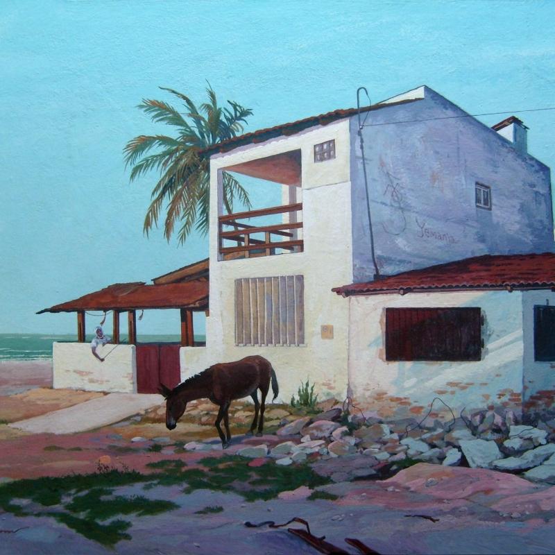 Домик на берегу океана / Casa na beira do oceano