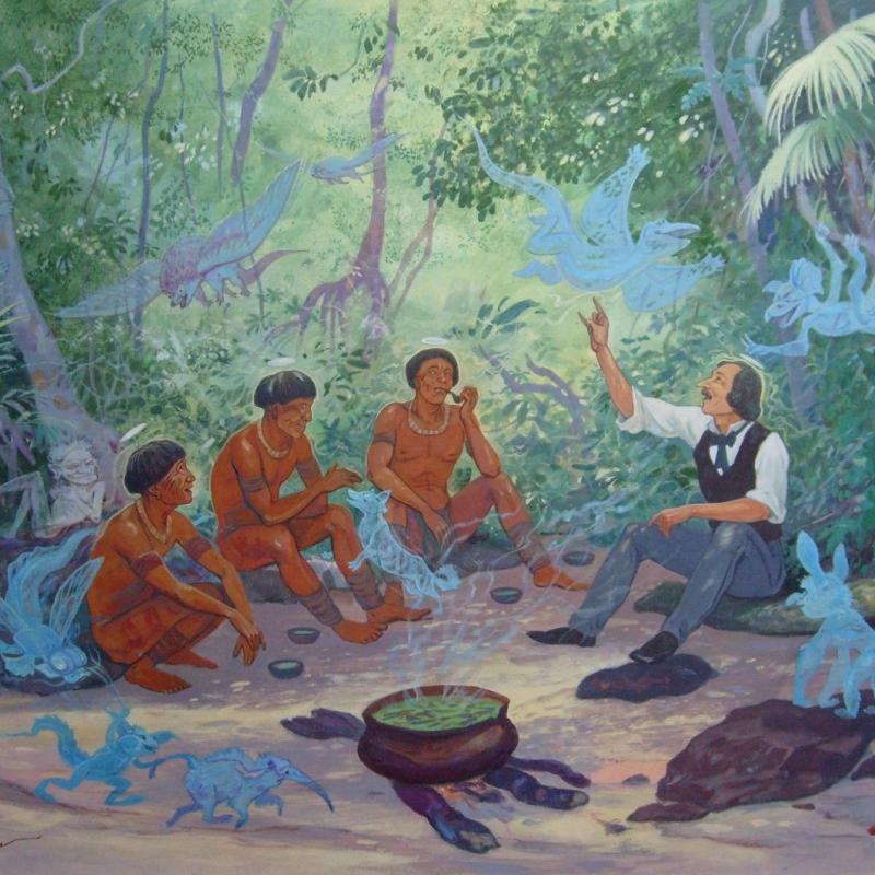 В поисках психоделического опыта или Николай Гоголь - друг индейцев /Na procura de experiencia psicodelica ou Nicolay Gogol - amigo de indios