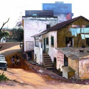 Улочка на окраине Катагуазиса / Travessa nas arrabaldes de Cataguases