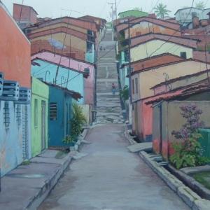 Переулок в Ресифи / Travessa em Recife
