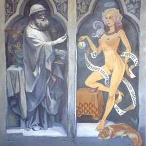 """Причащение грешницы"""" или """"О тайне вселенского причастия, о пути, которым Дух нисходит в тело и о том как действует Закон"""""""