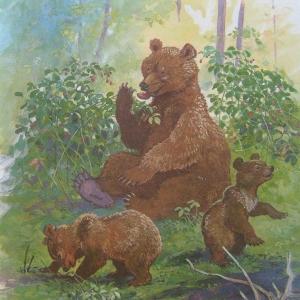 """Г. Скребицкий """"Медведица"""""""