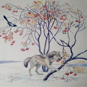 волк рябина - копия