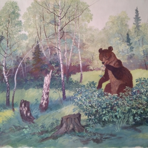 медведь в малиннике - к