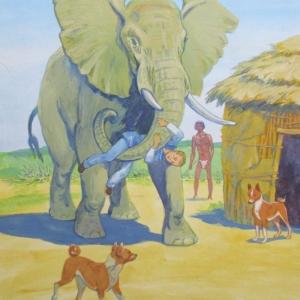 02-Гамен-и-слон