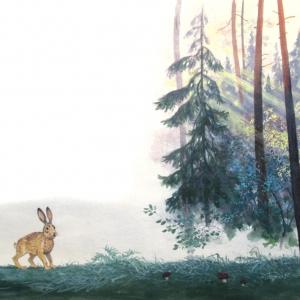 """Соколов-Микитов """"Рассвет в лесу"""""""