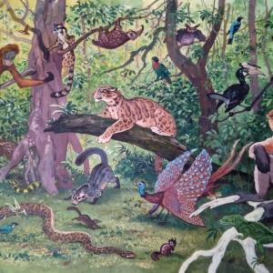 "илл. из книги В. Зотова ""На поиски животных"" (Ю-В Азия)"