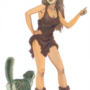"Киплинг ""Кошка, которая гуляла сама по себе"""